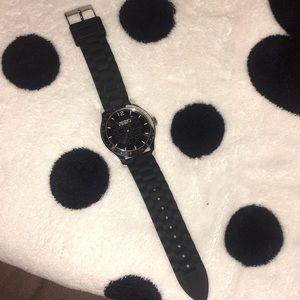Coach black watch